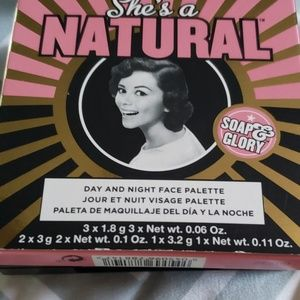 Soap & Glory Makeup - New Soap & Glory She's A Natural Palette Full Size
